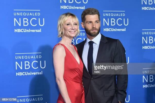 NBCUniversal Upfront in New York City on Monday May 15 2017 Red Carpet Pictured Anne Heche Mike Vogel 'The Brave' on NBC