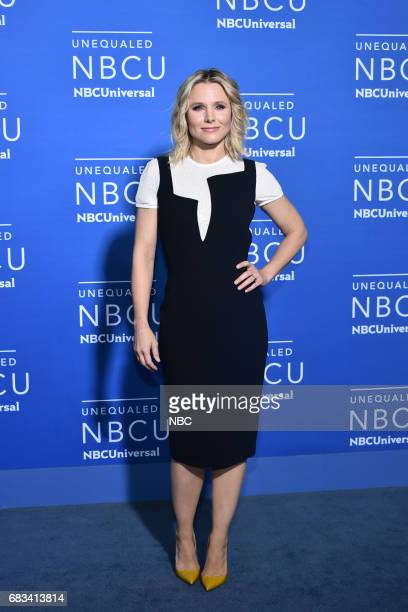 NBCUniversal Upfront in New York City on Monday May 15 2017 Red Carpet Pictured Kristen Bell 'The Good Place' on NBC