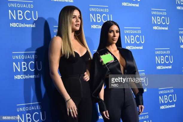 NBCUniversal Upfront in New York City on Monday May 15 2017 Red Carpet Pictured Khloe Kardashian Kim Kardashian West 'Keeping Up with the...