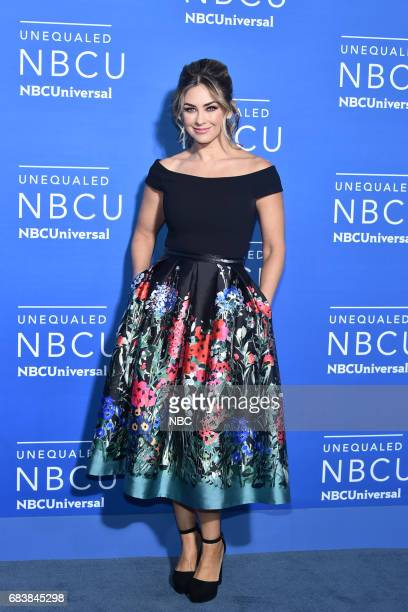 NBCUniversal Upfront in New York City on Monday May 15 2017 Red Carpet Pictured Aracely Arambula Telemundo