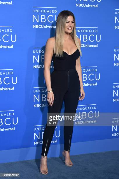 NBCUniversal Upfront in New York City on Monday May 15 2017 Red Carpet Pictured Khloe Kardashian 'Keeping Up with the Kardashians' on E Entertainment