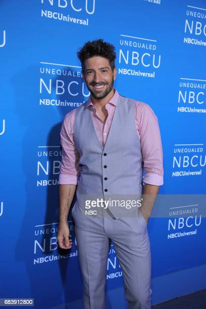 NBCUniversal Upfront in New York City on Monday May 15 2017 Red Carpet Pictured David Chocarro Telemundo