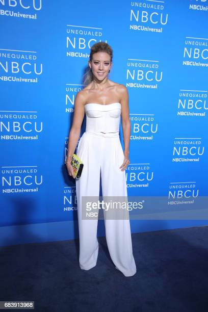 NBCUniversal Upfront in New York City on Monday May 15 2017 Red Carpet Pictured Fernanda Castillo 'El Señor de Los Cielos' on Telemundo