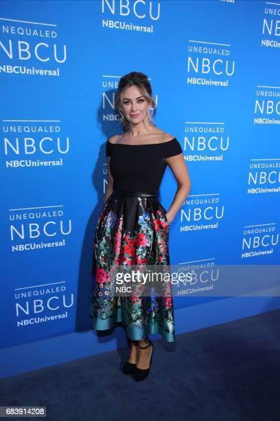 NBCUniversal Upfront in New York City on Monday May 15 2017 Red Carpet Pictured Aracely Arambula Telemundo'