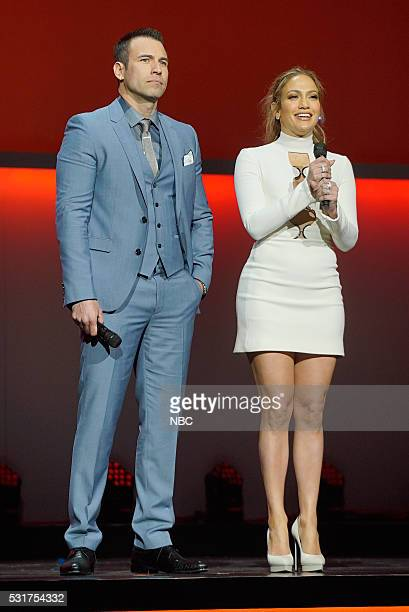 UPFRONT '2016 NBCUniversal Upfront in New York City on Monday May 16 2016' Pictured Rafael Amaya 'El Senor de los Cielos' on Telemundo Jennifer Lopez...