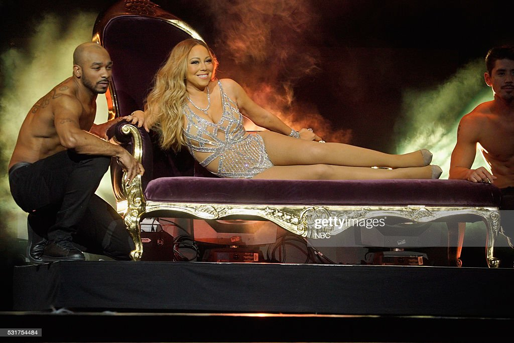 UPFRONT -- '2016 NBCUniversal Upfront in New York City on Monday, May 16, 2016' -- Pictured: Mariah Carey, 'Mariah's World' on E! Entertainment --