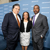 UPFRONT '2016 NBCUniversal Upfront in New York City on Monday May 16 2016' Pictured Oliver Platt and S Epatha Merkerson 'Chicago Med' Carl Weathers...