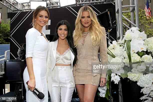UPFRONT '2016 NBCUniversal Upfront in New York City on Monday May 16 2016' Pictured Maria Menounos 'E News' on E Entertainment Kourtney Kardashian...
