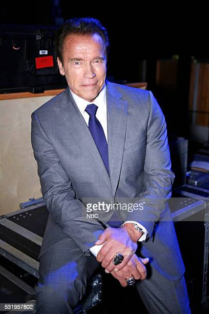 UPFRONT '2016 NBCUniversal Upfront in New York City on Monday May 16 2016' Pictured Arnold Schwarzenegger 'The New Celebrity Apprentice' on NBC