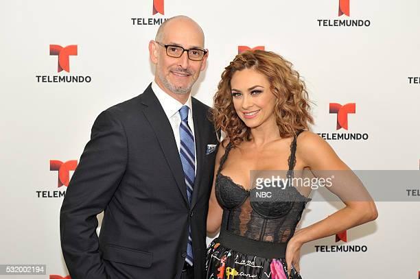 UPFRONT '2016 NBCUniversal Upfront in New York City on Monday May 16 2016' Pictured Luis Siberwasser President Telemundo Network ad NBC Universo...