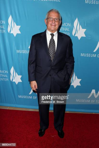 NBCUniversal Vice Chairman Ron Meyer attends The Simon Wiesenthal Center's 2017 National Tribute Dinner at The Beverly Hilton Hotel on April 5 2017...
