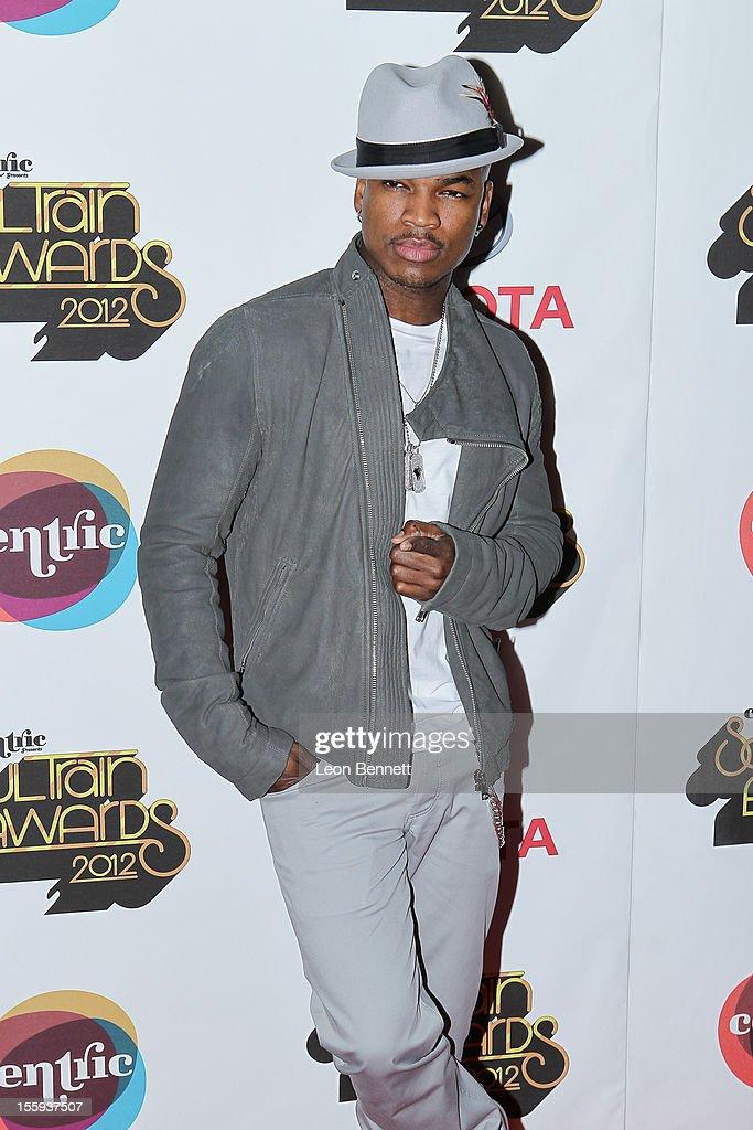 Ne Yo arrives at the Soul Train Awards 2012 - Arrivals at Planet Hollywood Casino Resort at on November 8, 2012 in Las Vegas, Nevada.