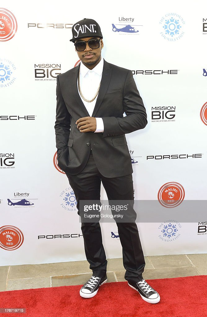 Ne Yo attends the The Compound Foundation 2nd Annual 'Fostering A Legacy' Benefit Hosted By Ne-YO & Mission BIG on August 17, 2013 in East Hampton, New York.