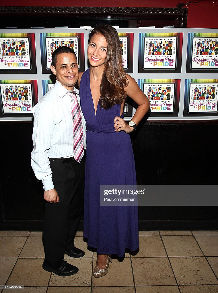 Neal Bennington and Kaitlin Monte attend Broadway Sings For Pride NYC 2013 Benefit at Iguana on June 24, 2013 in New York City.