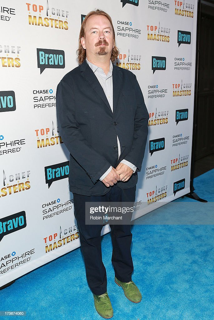 Neal Fraser attends Bravo's 'Top Chef Masters' Season 5 Premiere Celebration at 82 Mercer on July 16, 2013 in New York City.