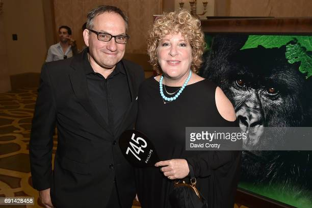 Neal Krone and Melinda Ritz attend the Elephant Action League Los Angeles Benefit Auction at The Montage on June 1 2017 in Beverly Hills California