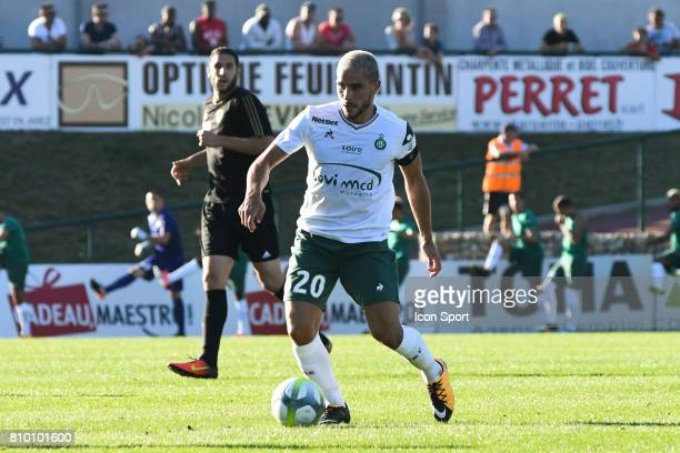 Neal Maupay during the friendly match between As SaintEtienne and FC Stade Nyonnais on July 5 2017 in SaintEtienne France
