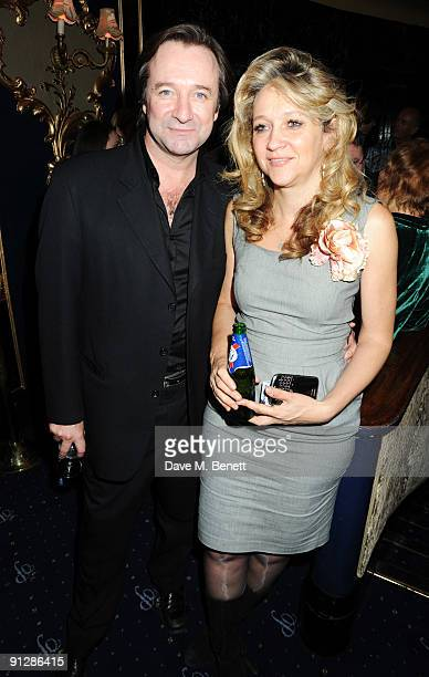 Neal Pearson and Sonia Freidman attend the afterparty following the press night of 'Prick Up Your Ears' at Cafe de Paris on September 30 2009 in...