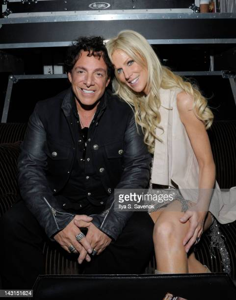 Neal Schon and Michaele Salahi attend the after party for the premiere of 'Don't Stop Believin' Everyman's Journey' during the 2012 Tribeca Film...