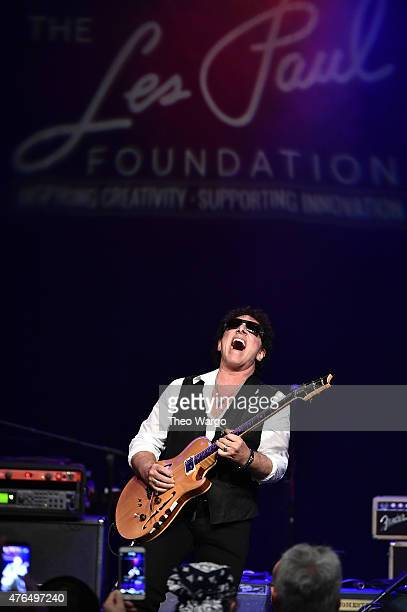 Neal Schon attends the Les Paul 100th Anniversary Celebration on June 9 2015 in New York City