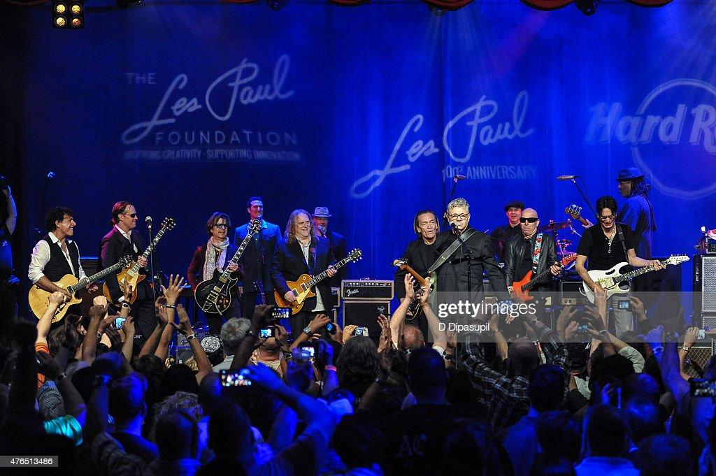 Les Paul's 100th Anniversary Celebration