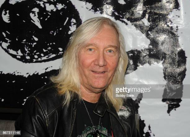 Neal Smith of the Alice Cooper Band attends Chiller Theater Expo Winter 2017 at Parsippany Hilton on October 27 2017 in Parsippany New Jersey