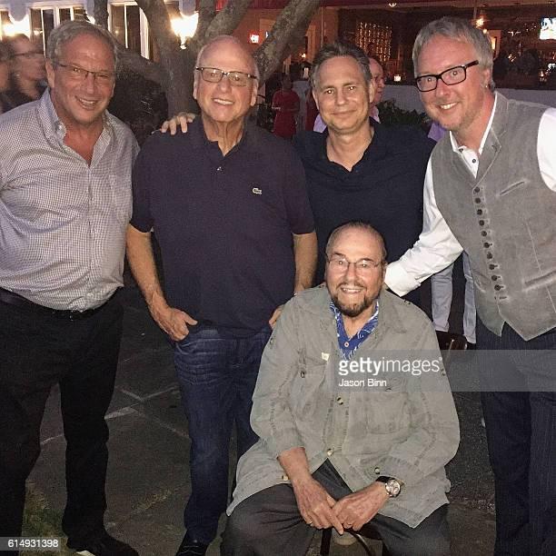 Neal Sroka Howard Lorber Jason Binn James Lipton Ian Duke circa August 2016 in the Hamptons NY