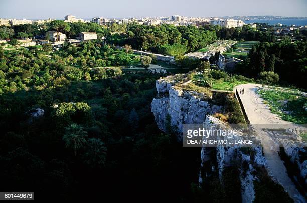 Neapolis archaeological Park Syracuse Sicily Italy