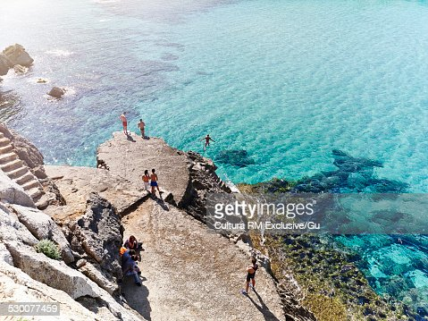 Near Cala St Vicente, Mallorca, Spain
