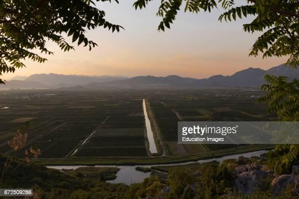 near Staseviki Dalmatia Croatia Agricultural landscape