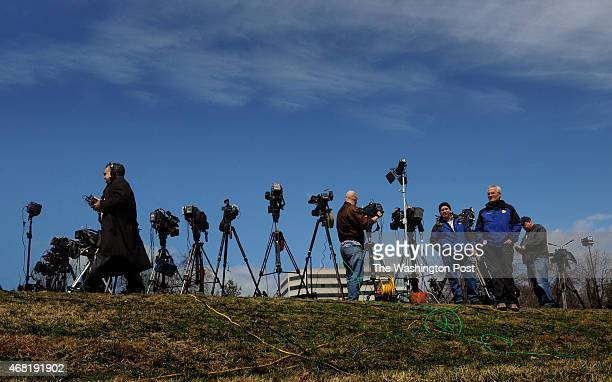 Near the scene of today's shooting incident at NSA headquarters at Fort Meade MD media members were told by NSA personnel not to aim their camera...
