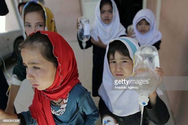 Nearly 124 schoolchildren have been treated at the hospital after suspected gas poisoning at a school in the ShahrakeJibrahil area in Herat Province...