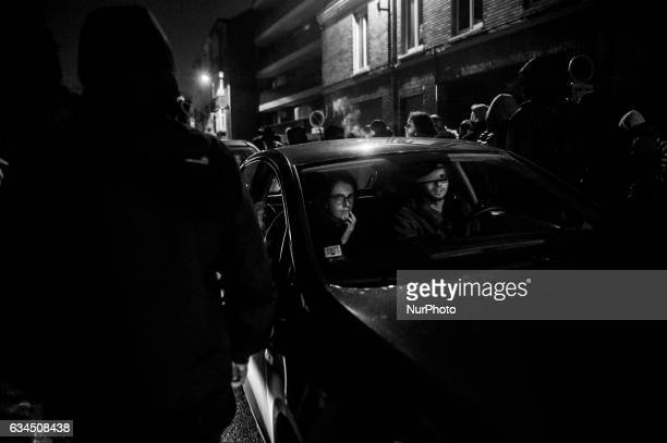Nearly 300 people demonstrated in the streets and workingclass districts of Lille in support of Théo the victim of police violence in Aulnaysousbois...