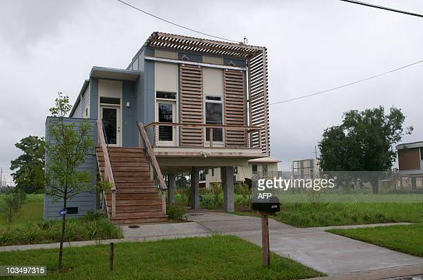 Nearly five years since Hurricane Katrina obliterated the Lower Ninth Ward signs of life in the form of modern homes built by Brad Pitt's Make It...