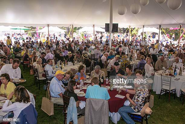 Nearly two thousand people attend Winesong a consumer wine tasting and auction held in the Mendocino Coast Botanical Gardens on September 7 in Fort...
