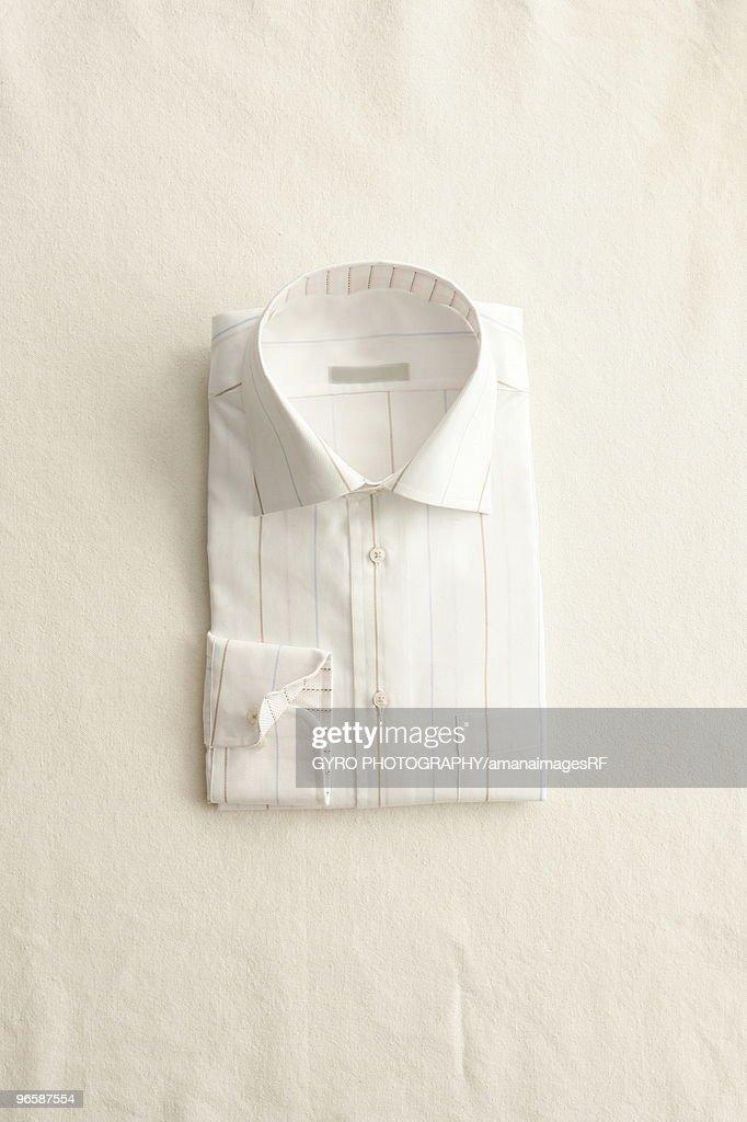 A neatly folded shirt