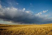 Rolling hills in Nebraska
