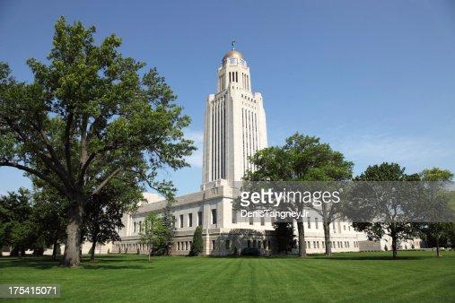 Nebraska State Capitol in Lincoln, Nebraska