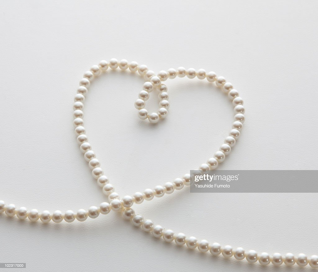 A necklace of pearl. : Stock Photo