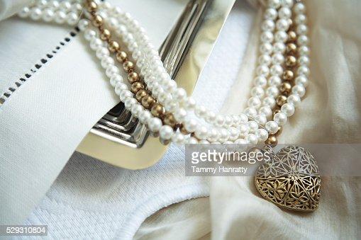Necklaces : Stock Photo