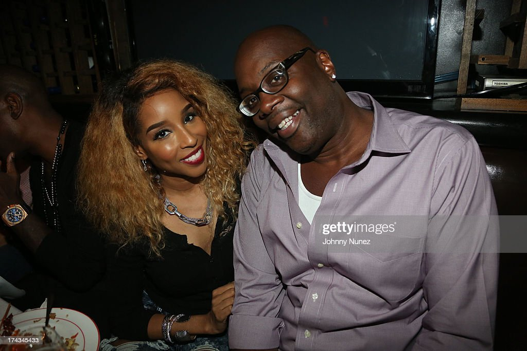 Necole Bitchie and Michael Kyser attend TGT's '3 Kings' Listening & Intimate Dinner at Philippe Restaurant on July 23, 2013 in New York City.