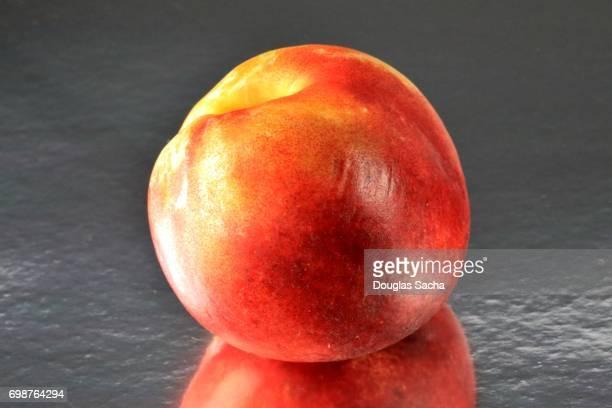 Nectarine fruit (Prunus persica)