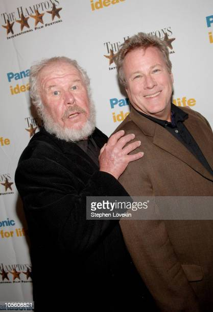 Ned Beatty and John Heard during 13th Annual Hamptons International Film Festival 'Sweetland' Screening at United Artists Theatres in East Hampton...