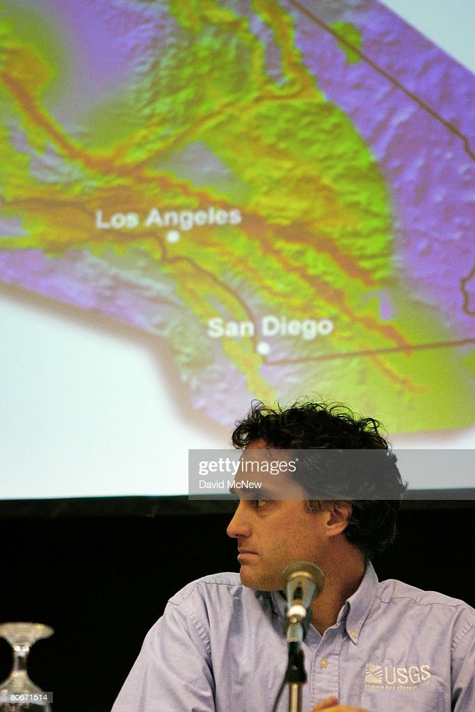 California Releases New Earthquake Forecast Photos And Images - Us representative map california