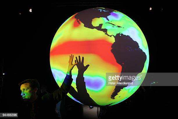 Ned Gardiner Climate Visualization Project Manager at The National Oceanic and Atmospheric Administration explains and demonstrates a projected...
