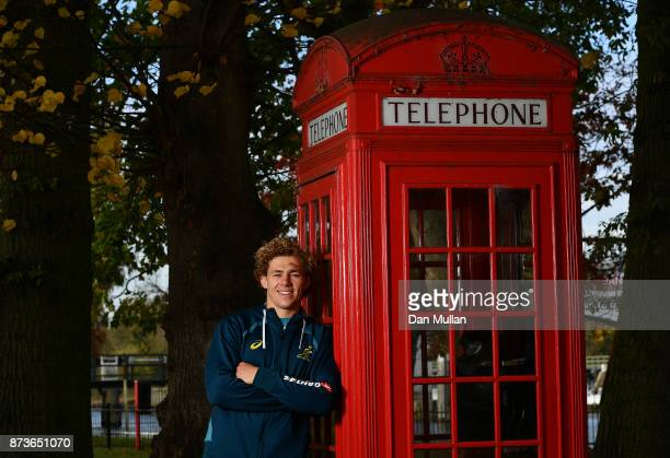 Ned Hanigan of Australia poses for a portrait prior to a training session at the Lensbury Hotel on November 13 2017 in London England