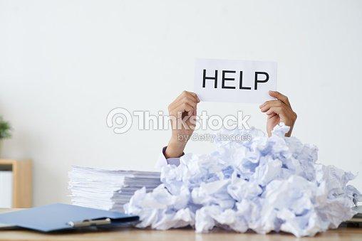 I need help : Stock Photo