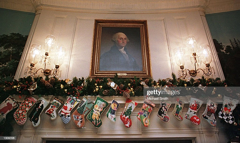 Fireplace Design the fireplace dc : U.S. White House Prepares For Christmas Pictures | Getty Images