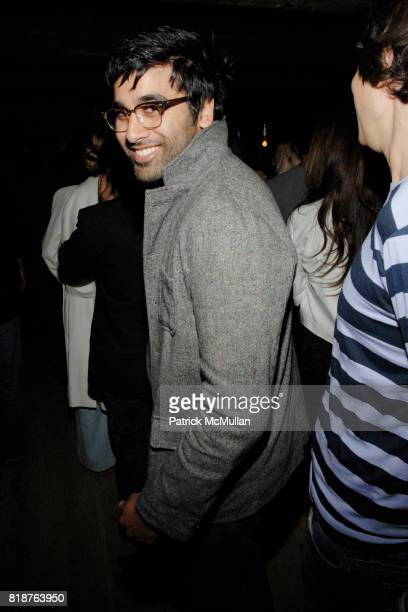 Neel Shah attends THE CINEMA SOCIETY hosts the after party of 'MULTIPLE SARCASMS' at The Lion on April 19 2010 in New York City