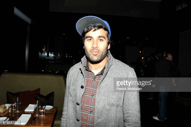 Neel Shah attends 'WATER WALL' Restaurant Hosts Tribeca Film Festival Screening of 'GET LOW' at Water Wall on April 27 2010 in New York City